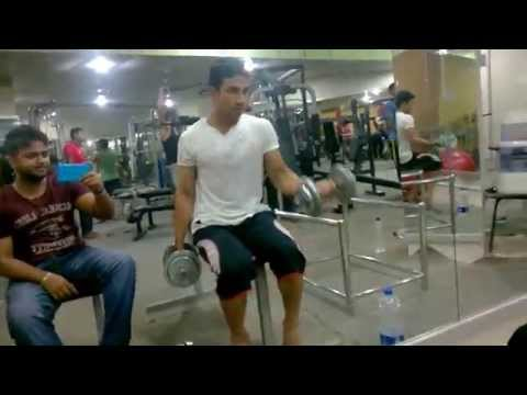 Arms Common Curl Bangla in Savar tech mass fitness center gym