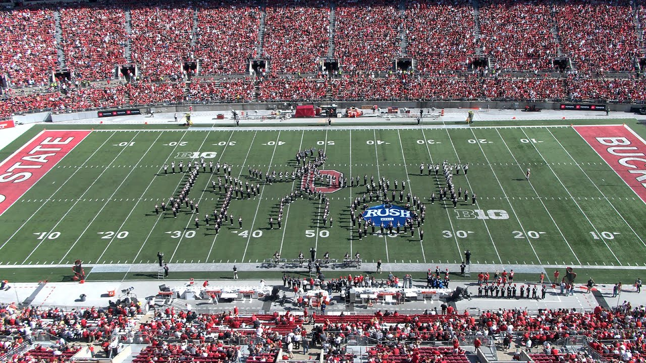 """Ohio State Marching Band Plays Tribute to Rush: """"2112,"""" """"YYZ,"""" """"Tom Sawyer"""" & """"Limelight"""""""