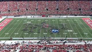 """Halftime: """"The Music of Rush"""" - Ohio State vs. Maryland, 10/9/21"""