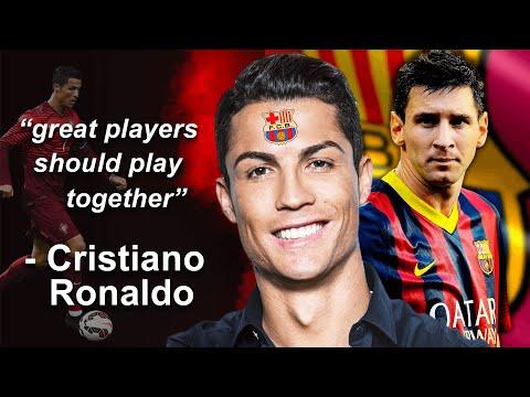 Cristiano Ronaldo to FC Barcelona?!