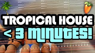 TROPICAL HOUSE IN UNDER 3 MINUTES