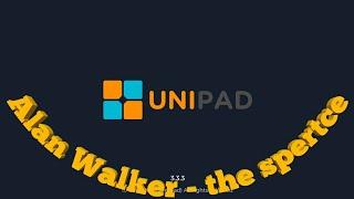 Alan Walker - the spertce unipad cover