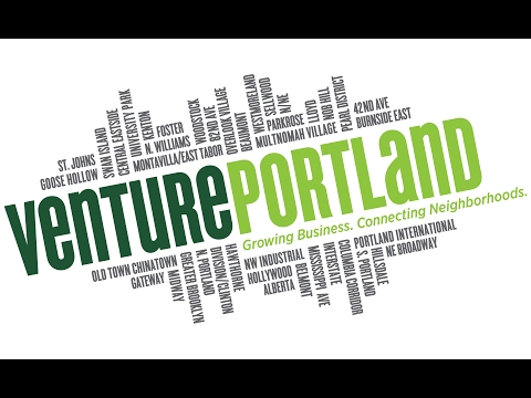 Venture Portland 2016 Presentation for Portland City Council