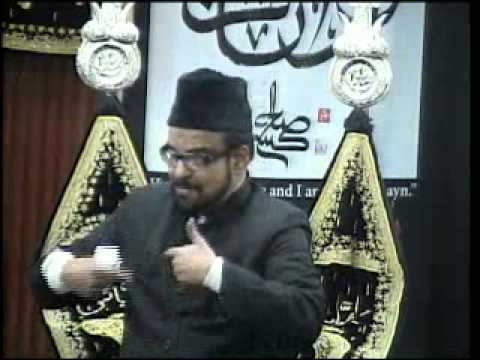 Majlis-e-Aza 1st Safar 1435 At IEC Husaini Chicago 12-4- Maulana Abid Bilgirami.asf