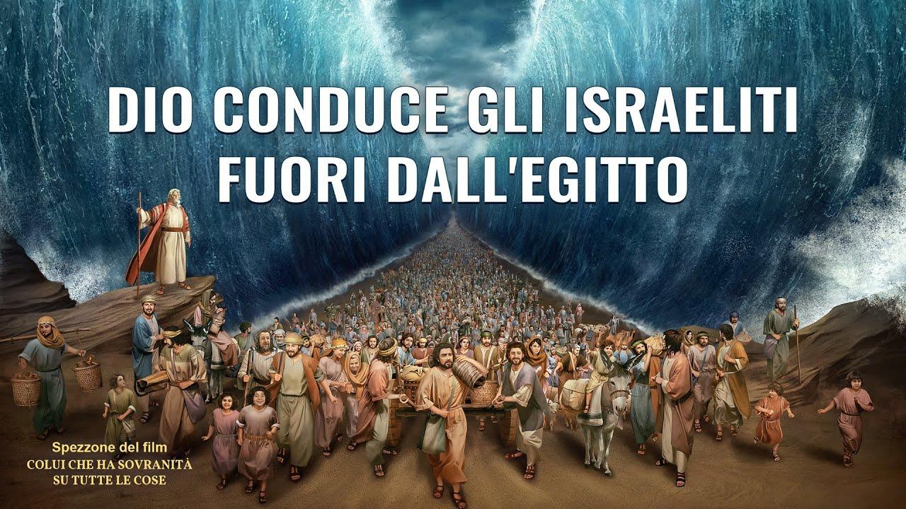 Film documentario (Spezzone 7) - Dio conduce gli Israeliti fuori dall'Egitto