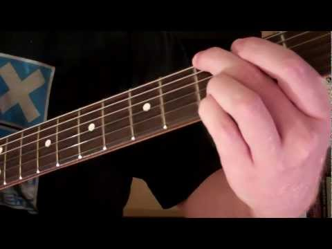 How To Play the Gsus2 Chord On Guitar (Suspended Chord)