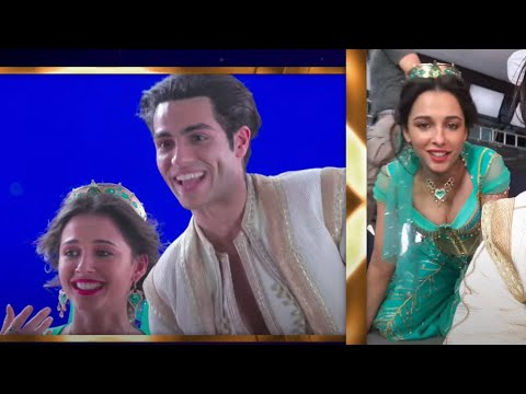 "Mena Massoud, Naomi Scott - A Whole New World (From ""Aladdin""/Behind The Scenes)"