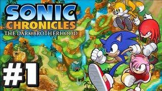 Sonic Chronicles: The Dark Brotherhood - Part 1
