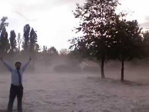 Supercell Thunderstorm hits Canberra
