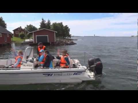 EURENSSA 2012, Sweden and Finland (Åland Islands)