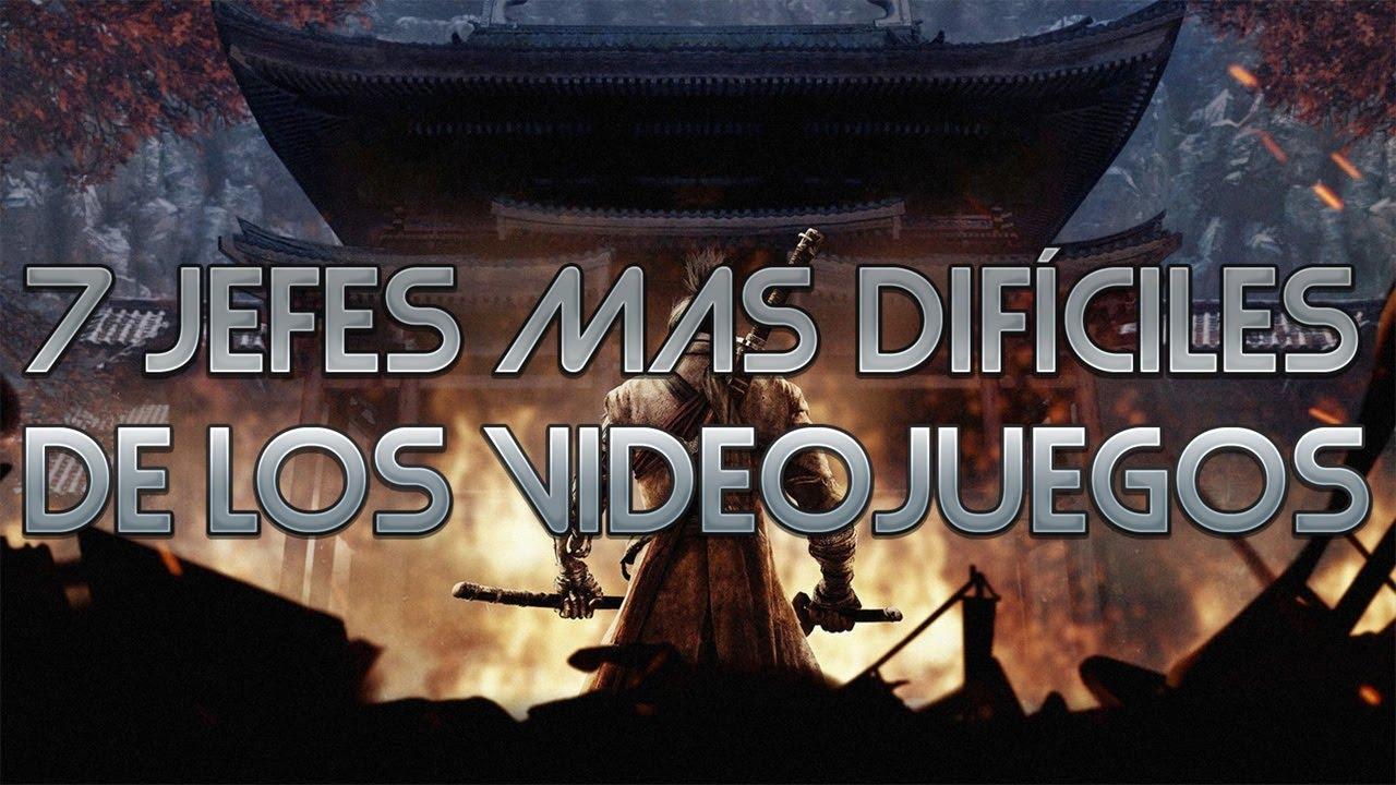 Top 7 Jefes mas Difíciles de los VideoJuegos
