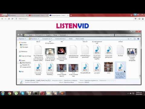 Como Descargar Una Musica en Menos de 3 Minutos/listenvid /Sin Virus/ y Gratis!