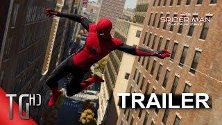 Spider-Man (PS4) Trailer - (Spider-Man: Far From Home Style) | TheTalentedGamerHD