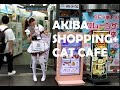JAPAN VLOG: Shopping and Cat Cafe in Akihabara!! With Yuyu.Monster and Naomeoww