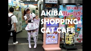 Video JAPAN VLOG: Shopping and Cat Cafe in Akihabara!! With Yuyu.Monster and Naomeoww download MP3, 3GP, MP4, WEBM, AVI, FLV September 2018