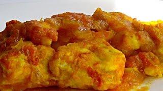 Курица в Меду и Помидорах кулинарный видео рецепт