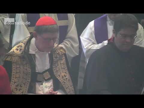 Beisetzung von Alt-Erzbischof Joachim Kardinal Meisner im Kölner Dom