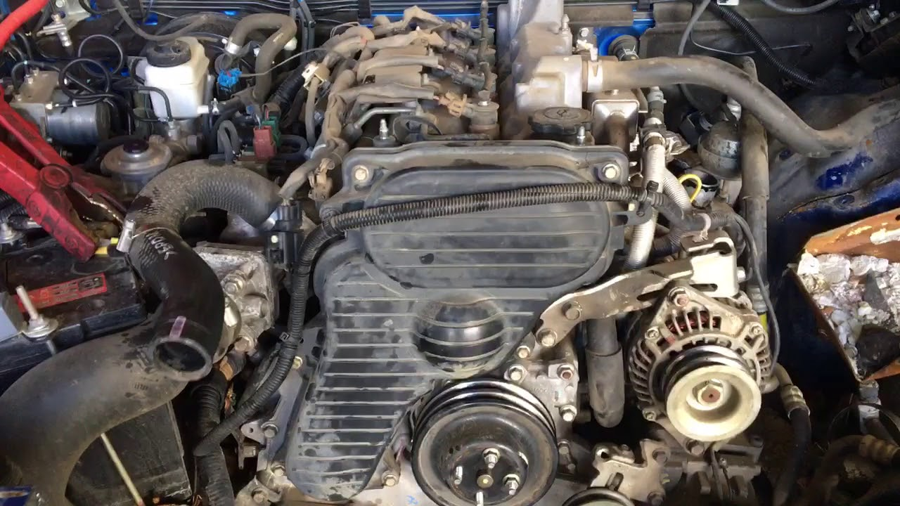 Mazda BT50 Engine Start Up - a4538