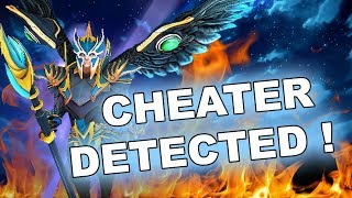 Beware of scripts/hacks in Dota! Skywrath Mage with soft!