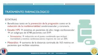 Periférica de enfermedad la pautas vascular de tratamiento