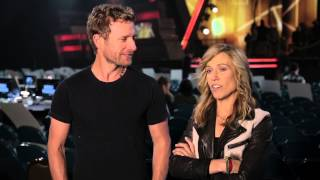 Behind the Scenes at Rehearsals: Dierks Bentley & Sheryl Crow - 2014 ACM Awards