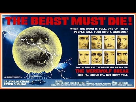 The Beast Must Die (1974) VHS Trailer - Color / 0:56 mins