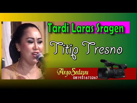 Lirik Lagu TITIP TRESNO Sragenan Karawitan/Campursari - AnekaNews.net