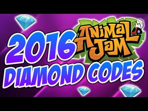 ANIMAL JAM: NEW 2016 DIAMOND CODES!