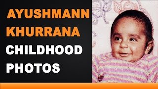 Ayushmann Khurrana Childhood Photos
