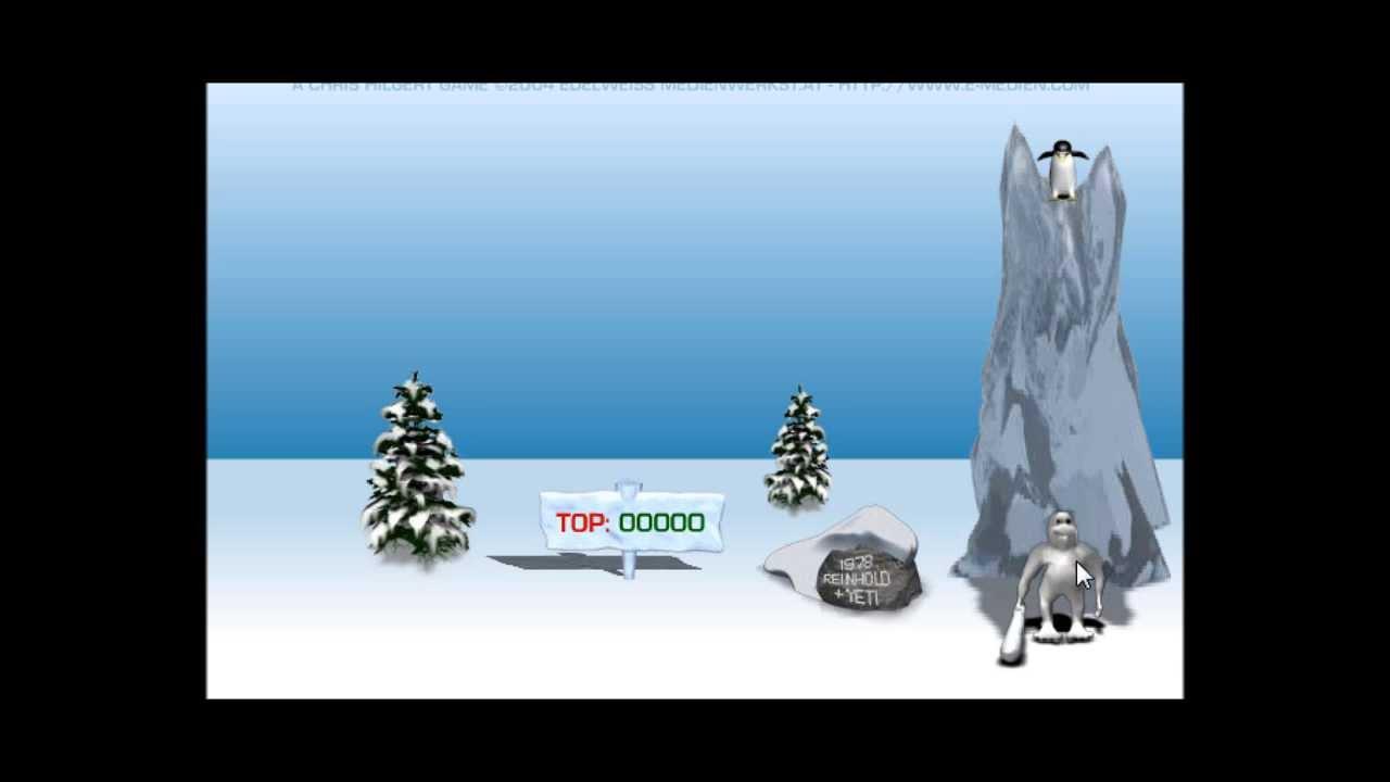 Yeti Sports Pingu Throw