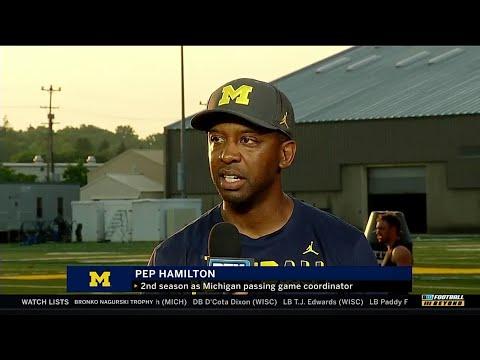 BTN Bus Tour: Michigan's Pep Hamilton | Big Ten Football