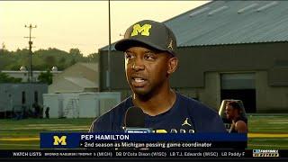 BTN Bus Tour: Michigan's Pep Hamilton   Big Ten Football