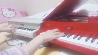 히로시의 회상 (짱구극장판 / 어른제국의 역습 OST) - 미니피아노 연주