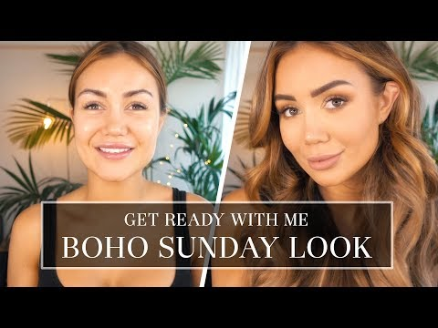 GRWM - GET READY WITH ME, PIA MUEHLENBECK - SUNDAY STYLE MAKE UP AND HAIR TUTORIAL