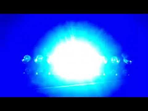 Bright CREE LED Flashing Strobe Light, Blue Color Car Windshield ...
