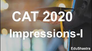 CAT 2020 Analysis | CAT 2020 Exam | CAT 2020 Test Analysis Slot 1