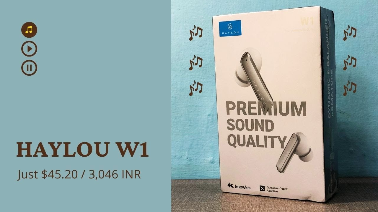 Download Haylou W1 Unboxing and First Impressions - This Sounds AMAZING!