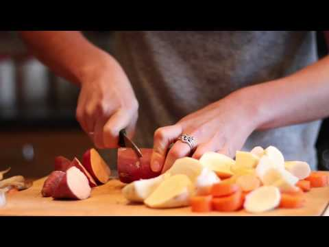 Christmas Recipe Special | Maple Roasted Root Vegetables | Currie On Cooking