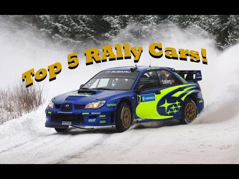 Personal Gta V Top 5 Rallying Cars - YouTube