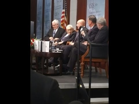 US National Security Council Adviser General H.R. McMaster on Trump Admin priorities #CSIS