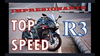 Yamaha R3 TOP SPEED * Review, impresionante