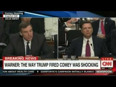LIVE testimony from former FBI driector James Comey before Congress 1st hour