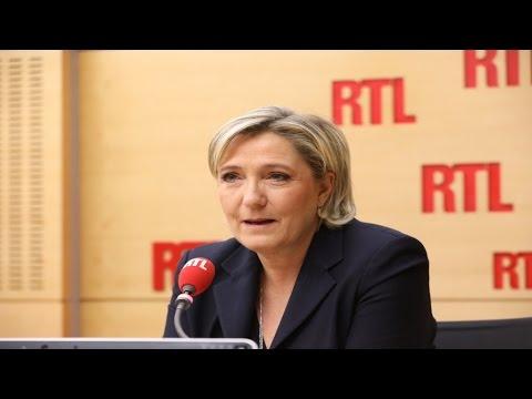 """Marine Le Pen : """"Il y a une fascination puérile autour d'Emmanuel Macron"""""""