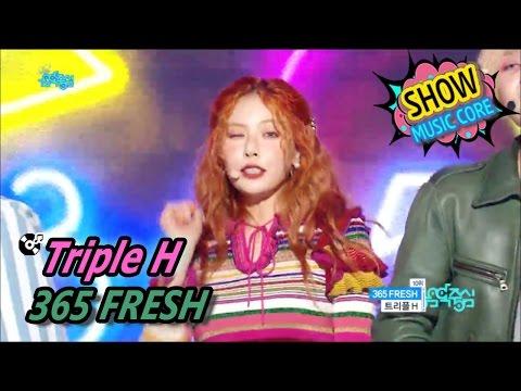 [HOT] Triple H - 365 FRESH, 트리플 H - 365 FRESH Show Music Core 20170513