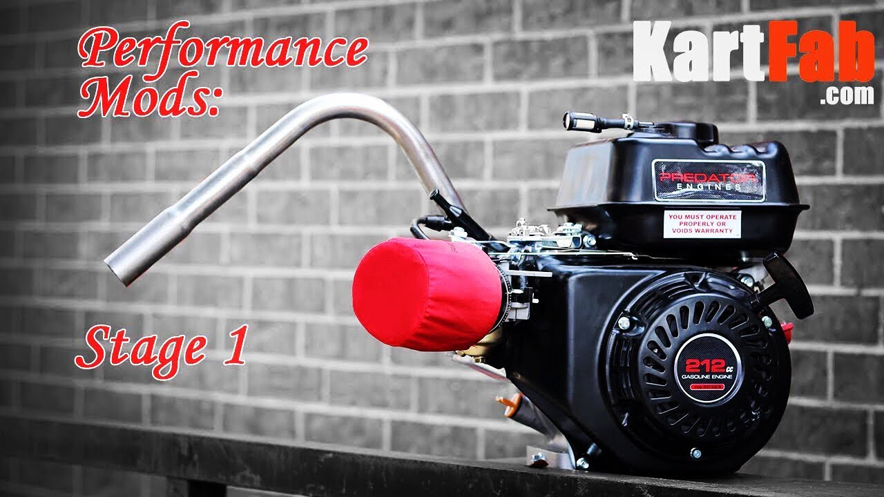 Go Kart Engines: Predator 212cc Performance - KartFab com