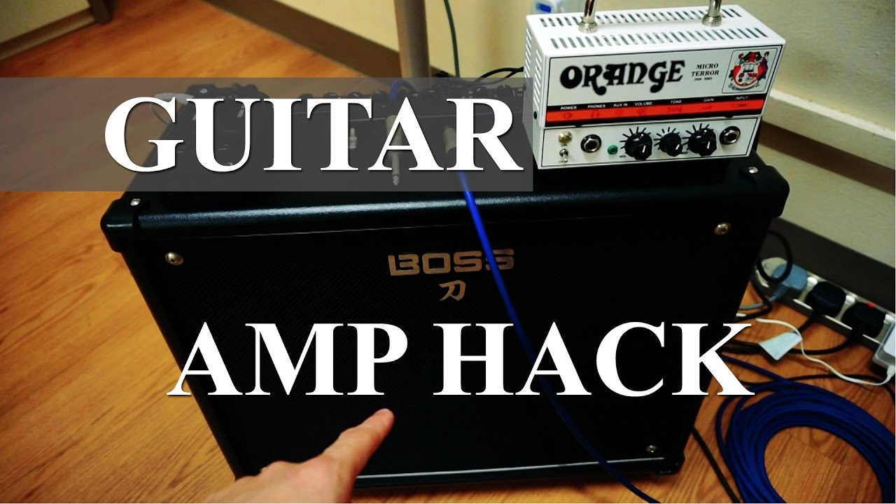 Guitar Amp Hack - Use Your Combo as a Speaker Cabinet - YouTube