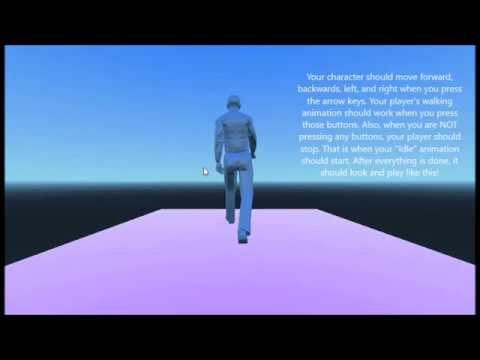 Godot 3 3D - Making A Character Walking In Under 12 Minutes) - Version 3.0