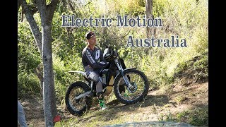 Electric Trials Bikes by - Electric Motion Australia