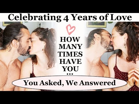 HOW MANY TIMES HAVE YOU (blank) IN 4 YEARS -- Q and A -- Conor and Brittany - 동영상