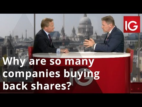 Why are there so many companies buying back shares?
